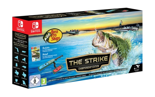 pack bundle nintendo switch bass pro shops the strike championship edition