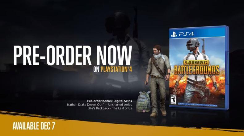 PUBG sur PS4