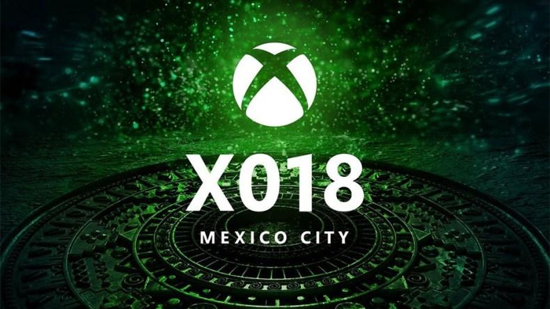 X018 xbox one x mexico city