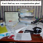 Can't find my new reorganization plan