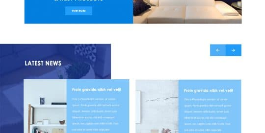 Interior Designing Website Templates Archives - Metclouds Technologies