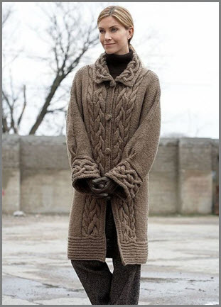 Строгое и элегантное пальто