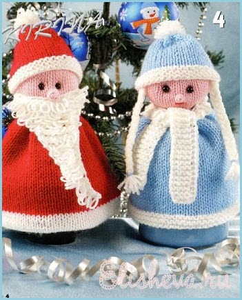 Ёлочные Дед Мороз и Снегурочка