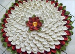 Ковёр цветок