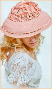 Настоящая дамская шляпка