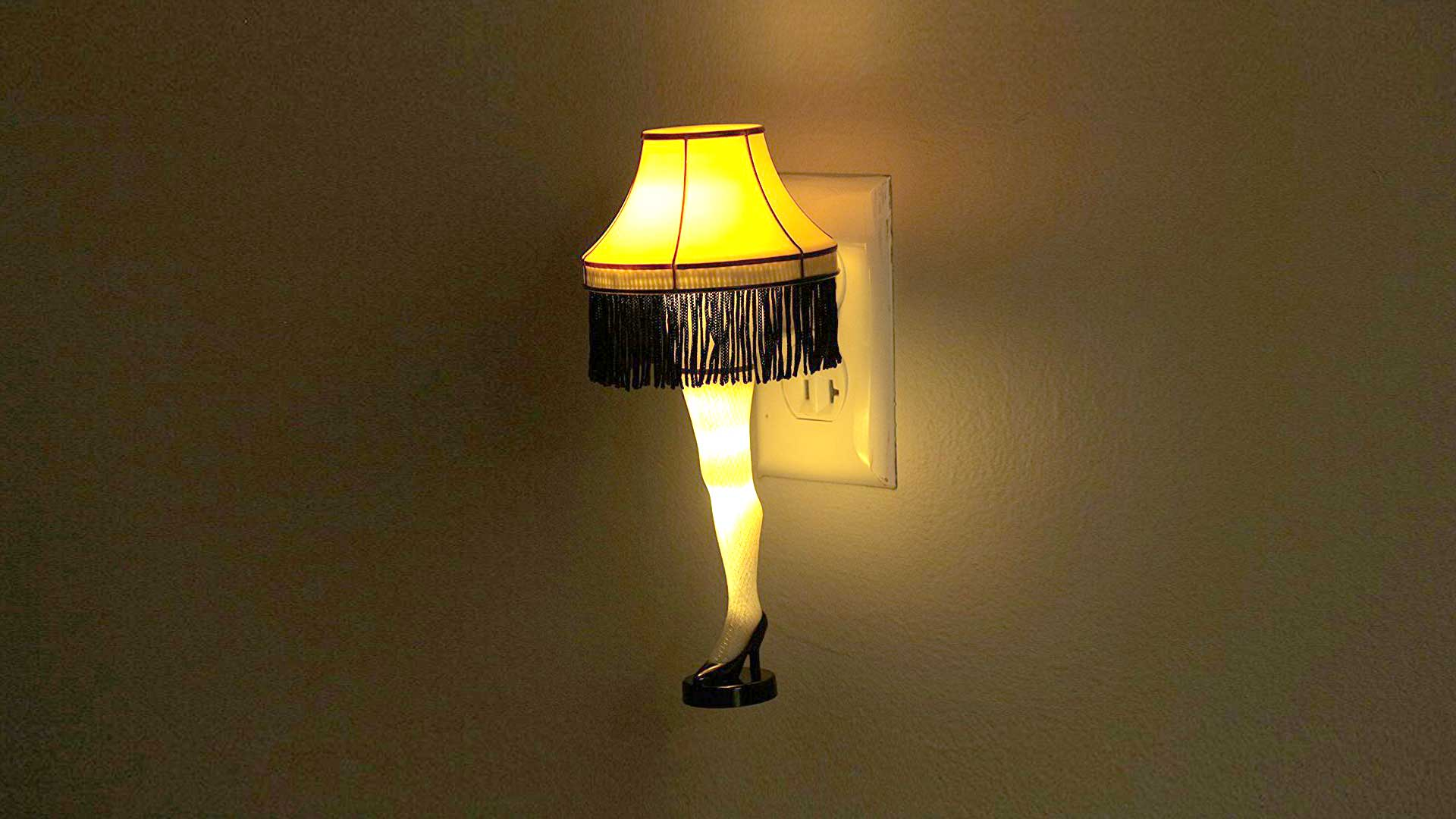 Lamp And Nightlight Leg Lamp The Ultimate Holiday Decoration From A
