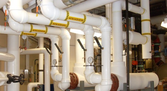 Cleaning And Flushing Of The Chilled Water Piping System