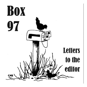 Letters to the editor: October 29, 2014