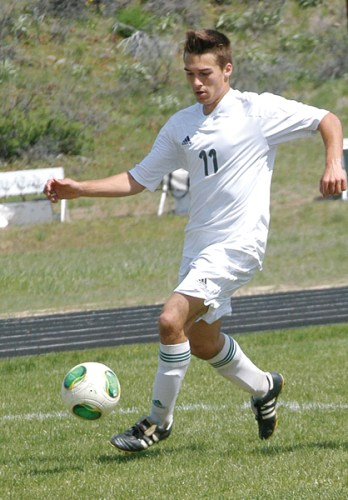 Alex Bosco played throughout high school, and is a two-time Golden Boot Award winner. Photo by Mike Maltais