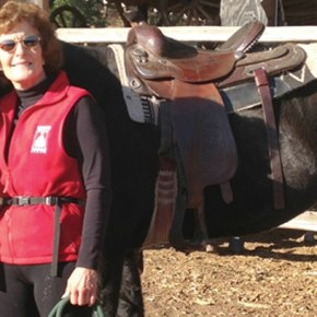 Horse lover's determination leads her back 