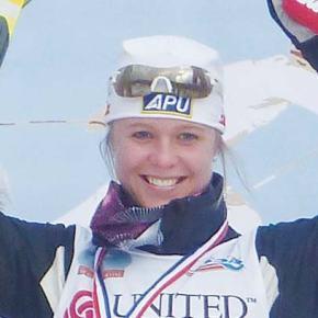 Bjornsen celebrates selection to 2014 Winter Olympics XC Team
