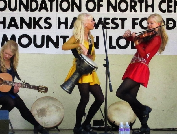 The Gothard Sisters performed at the Methow Arts Festival. Photo by Don Nelson