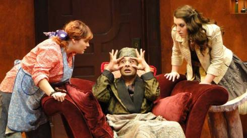 Seattle University drama students will perform The Imaginary Invalid at The Merc Playhouse on Sunday. Photo by Ki Gottberg