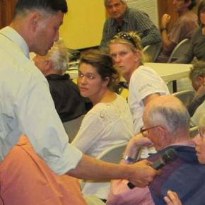 Copper drilling proposal gets a grilling at public meeting