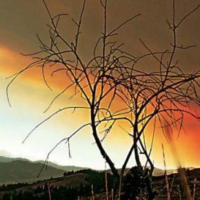 Firefighters focused on controlling blazes in steep mountain terrain