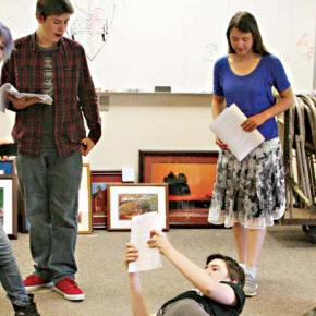 Liberty Bell students stage original play Brain Circus–NY 2025
