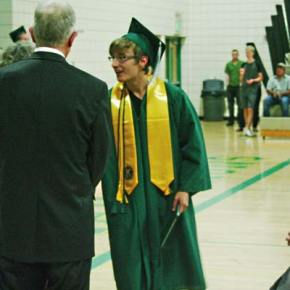 Photo by Darla Hussey LBHS graduate (and senior class president) Danny Rodriguez.