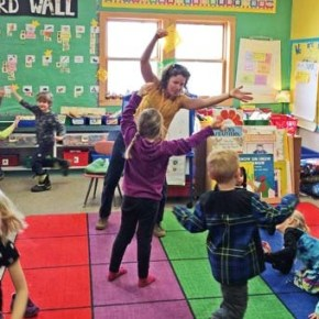 Kindergarten round-up preps students for next school year