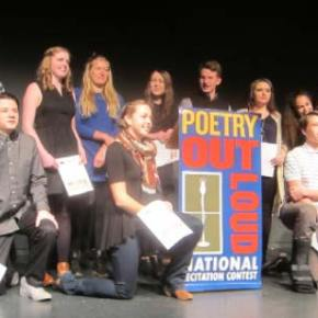 Lilly Cooley takes first place in fourth annual Poetry Out Loud competition