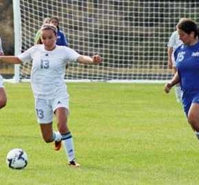 Lady Lions open soccer season with 3-1 victory