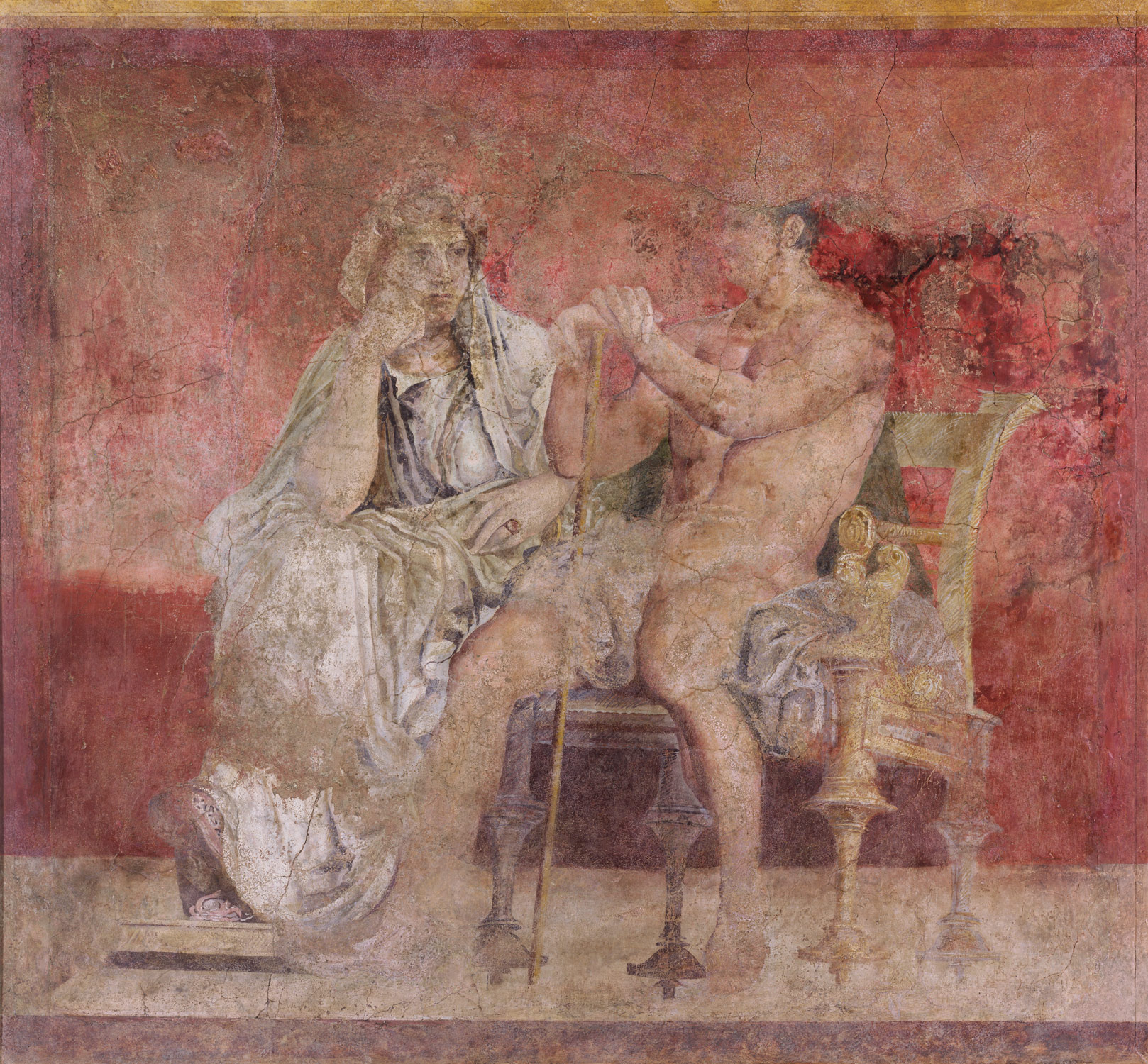Stucco Pompeji Boscoreale: Frescoes From The Villa Of P. Fannius Synistor