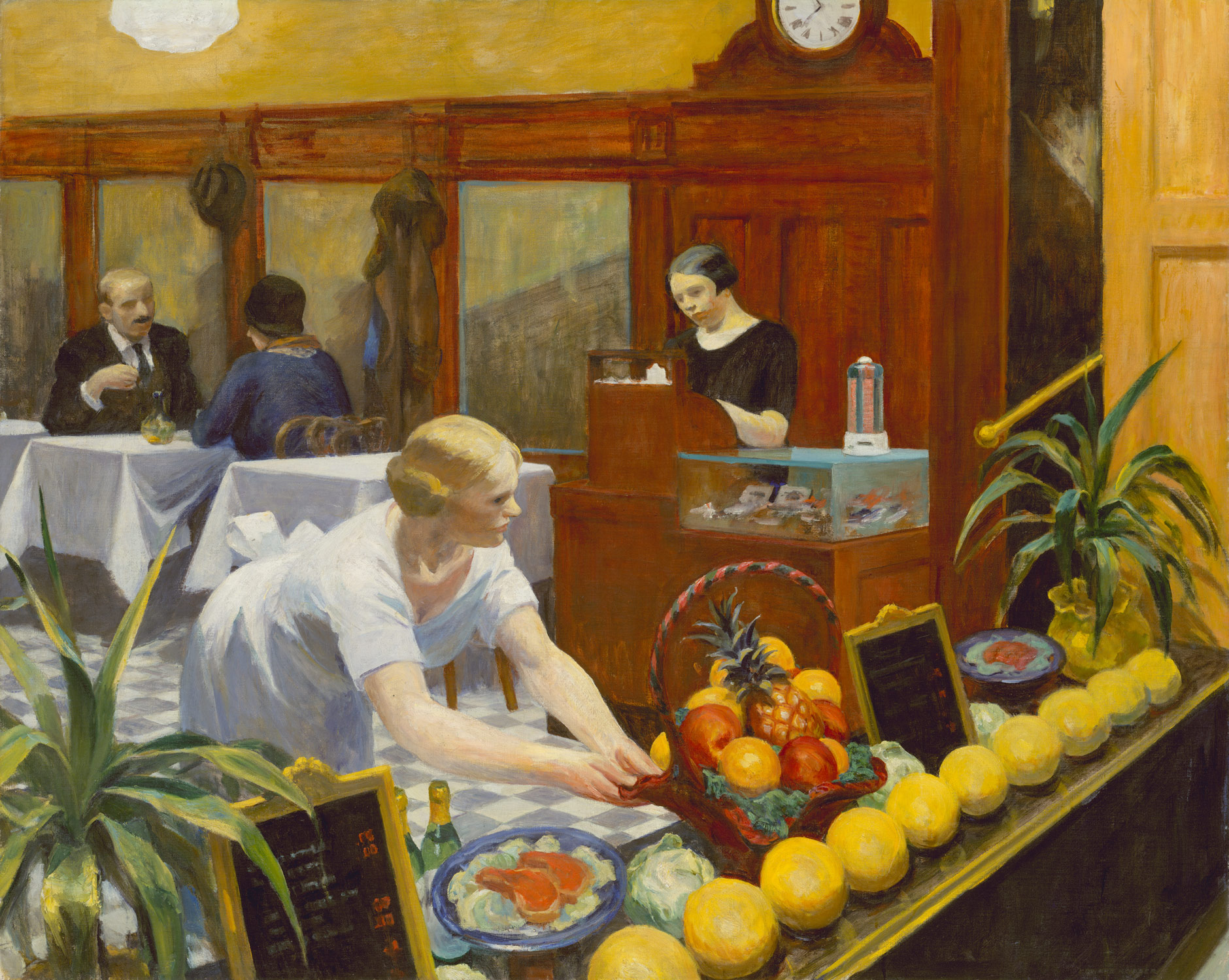 La Chambre A New York Edward Hopper Tables For Ladies Edward Hopper 31 62 Work Of Art