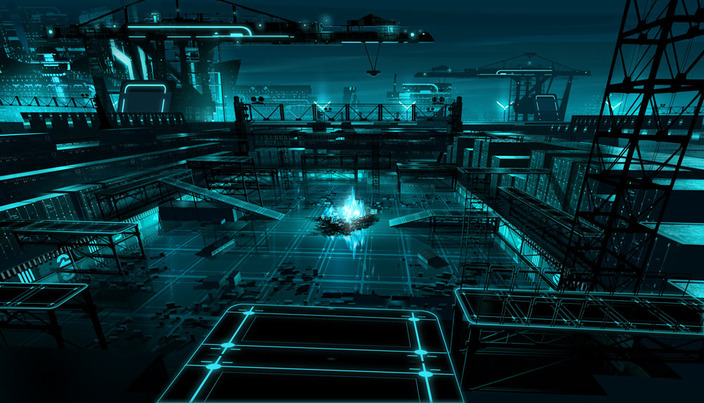 Falling Apart Wallpaper Tron The Grid Metricfunk27 Enter Another World
