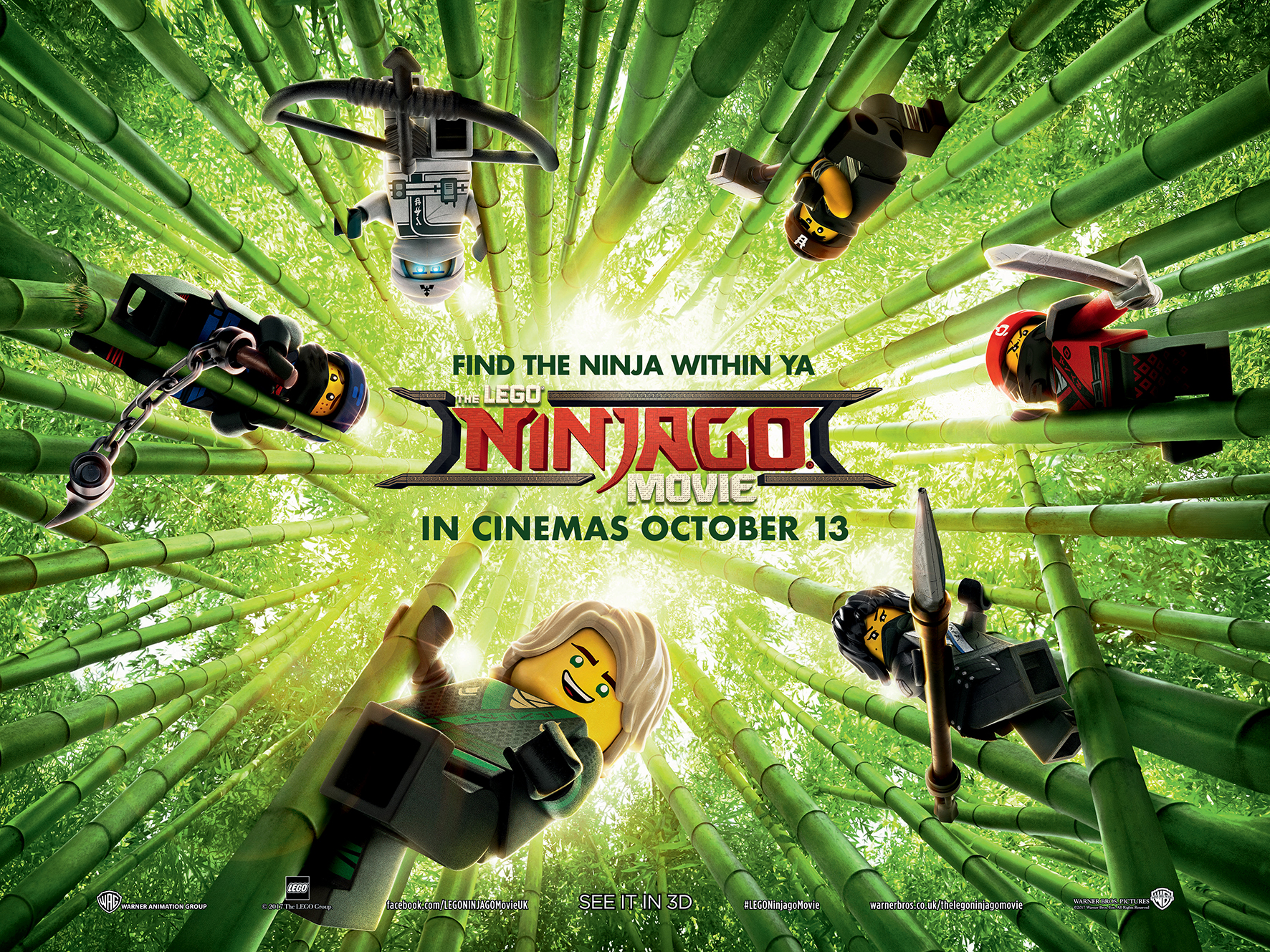 The Lego Ninjago Movie The Lego Ninjago Movie Review This Toy Ad Doesn T Quite Connect