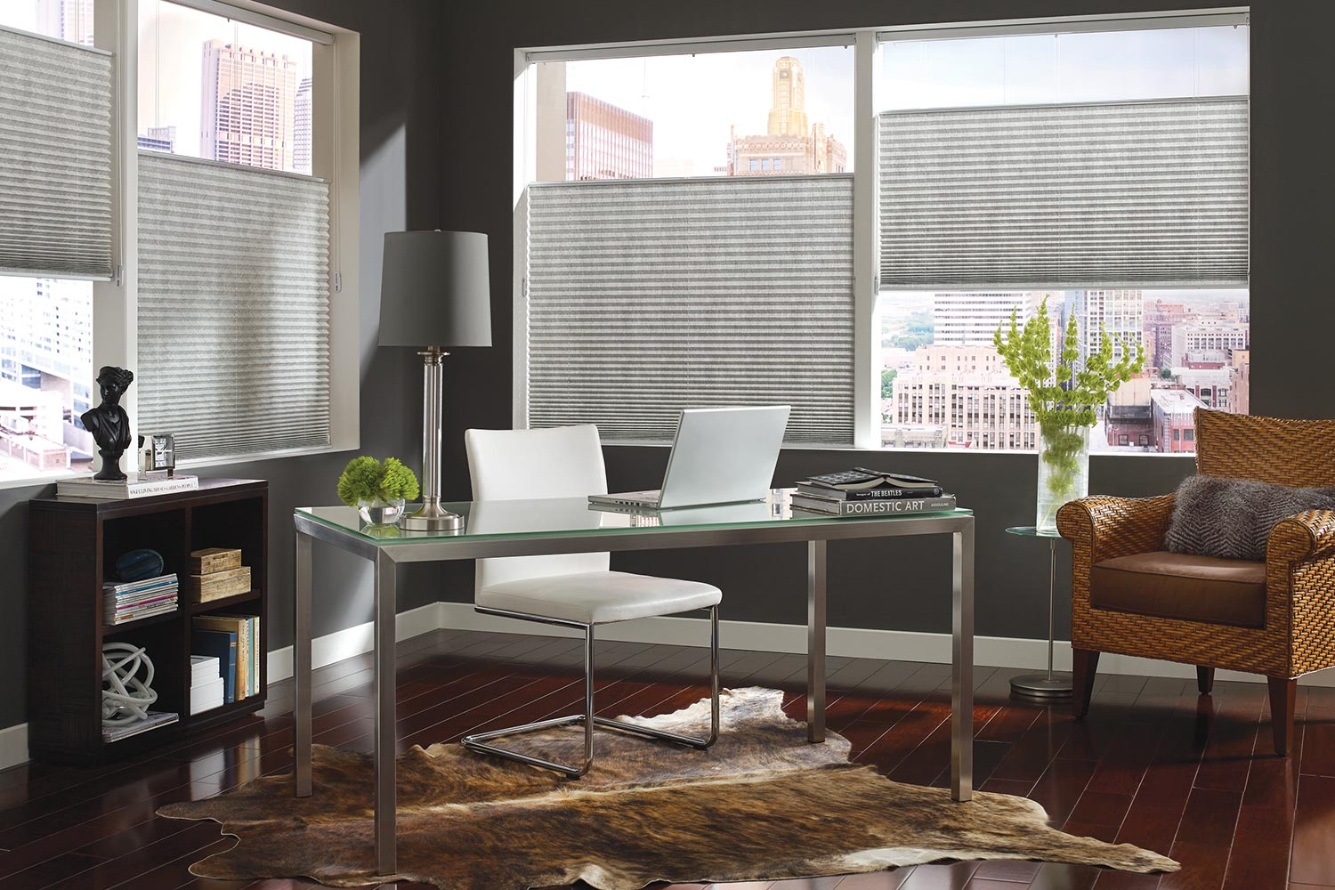 Budget Light Pleated Shades – Metro Blinds