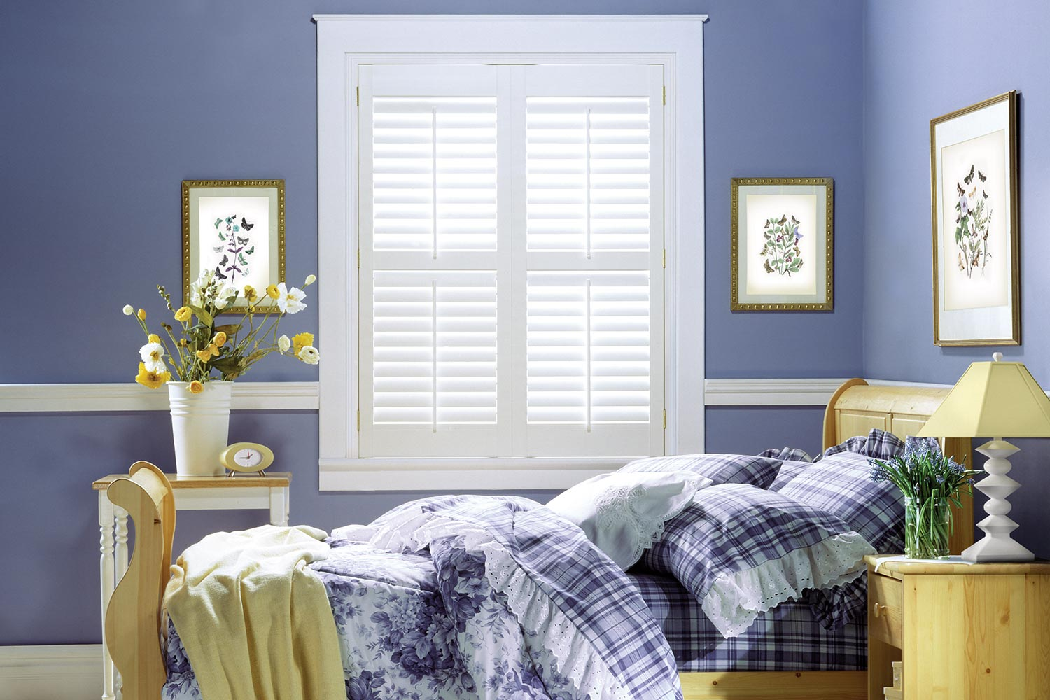 Budget Light Vinyl Plantation Shutters – Metro Blinds