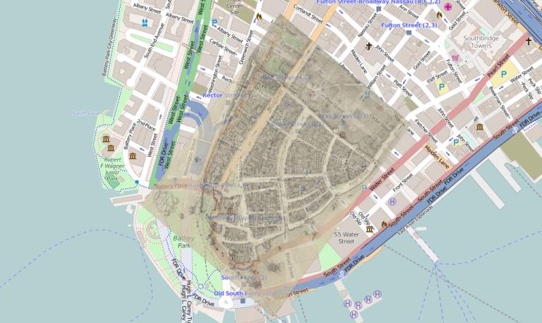 New York City artificial land