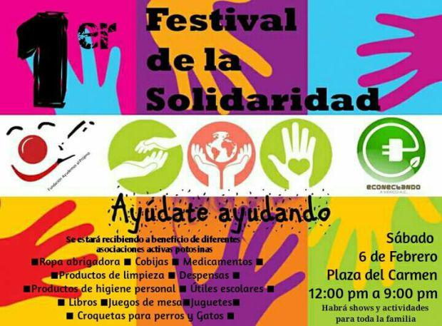 1er Festival de la Solidaridad @ San Luis Potosí | San Luis Potosí | México
