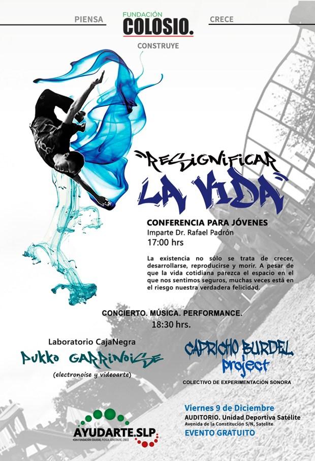 Conferencia y Concierto por Fundación Colosio @ Auditorio de la Unidad Deportiva de Satelite | Gran Tarajal | Canarias | España