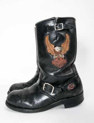 harley steel toe 10