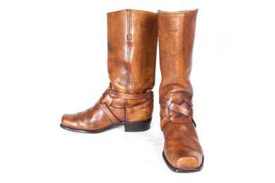 1960's FRYE BLACK LABEL Men's Boots Size 10 1/2