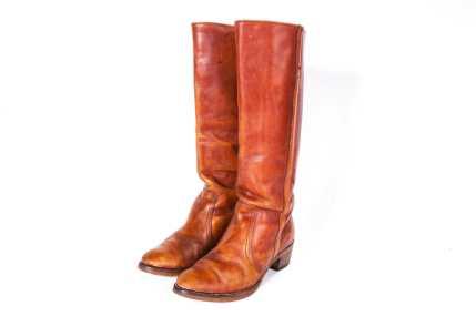 1970's FRYE BLACK LABEL Hippie Boot Women's Size 8 1/2