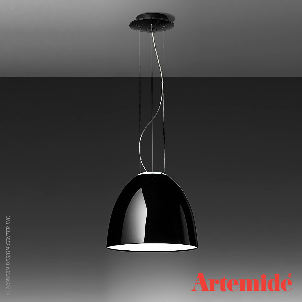 Artemide Nur Mini Nur Mini Gloss Suspension | Artemide | Metropolitandecor
