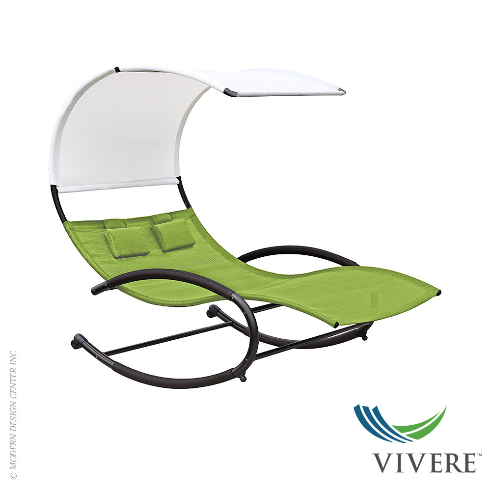 Chaise Rocking Chair The Double Chaise Rocker Vivere Metropolitandecor