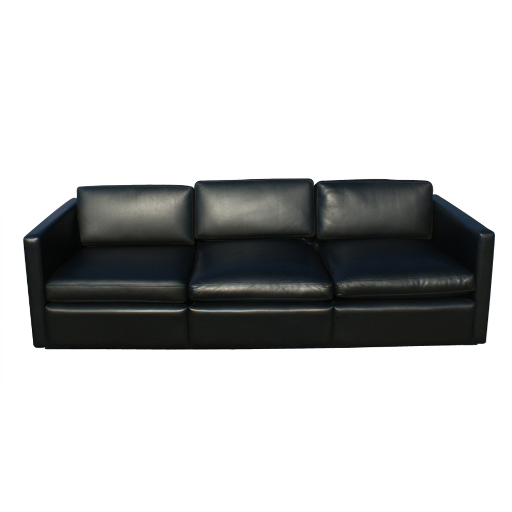 Ebay 2 Seater Leather Sofa Midcentury Retro Style Modern Architectural Vintage