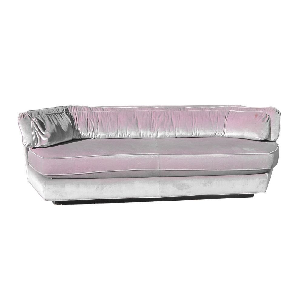 Retro Inflatable Sofa Midcentury Retro Style Modern Architectural Vintage Furniture From