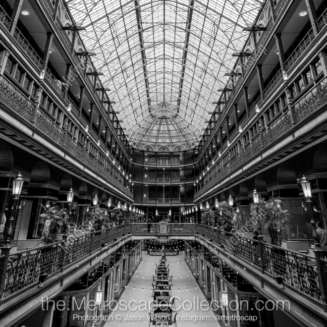 Cleveland Black and White Skyline and Cityscape Limited Edition