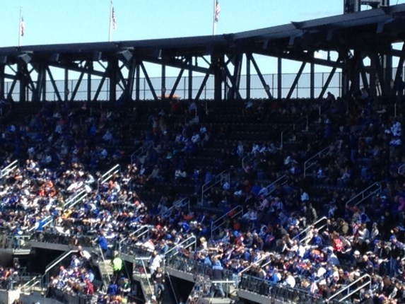 mets opening day rf crowd shot