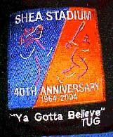 Shea Stadium 40th Anniversary patch