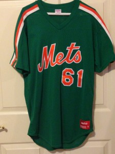 mets st patricks day jersey 1990