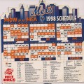 1998 Mets Magnetic schedule