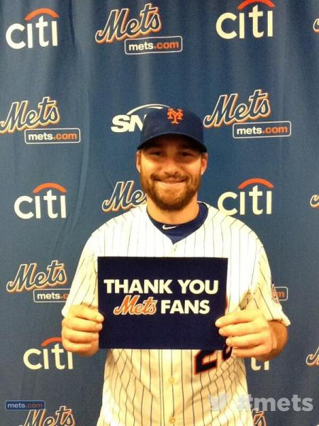 daniel murphy thanks mets