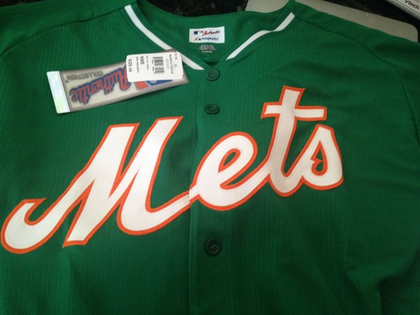 Mets Celtic Cool Base jersey 2014