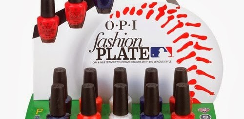 OPI Fashion Plate MLB Collection Spring 2014