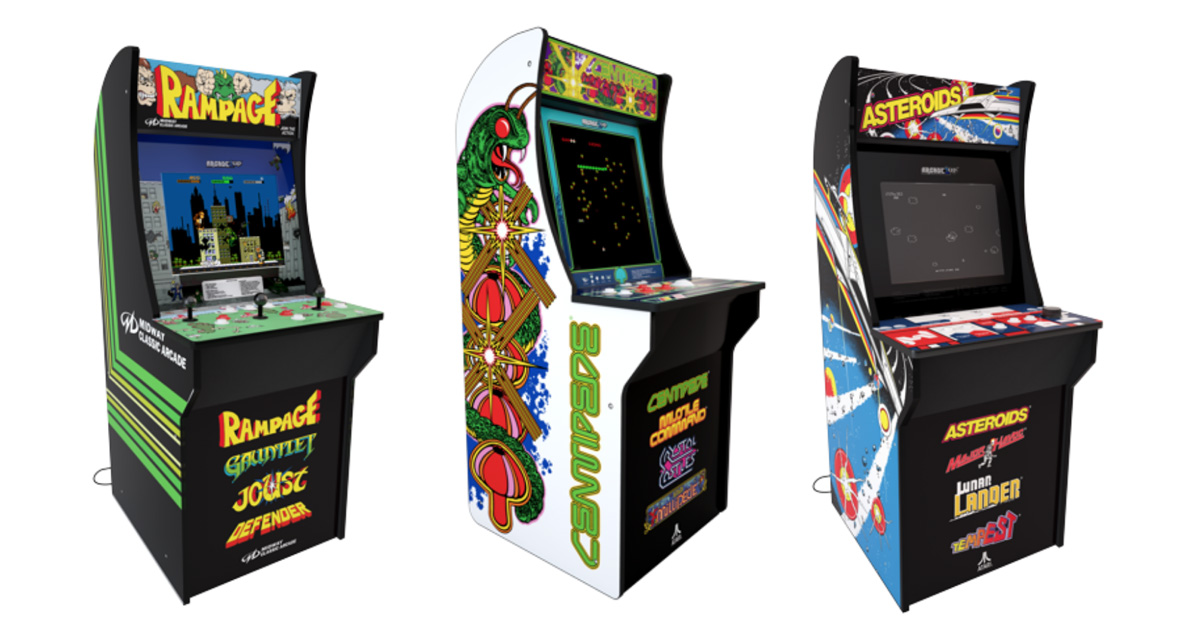 You Can Finally Own The 3980s Arcade Of Your Dreams For