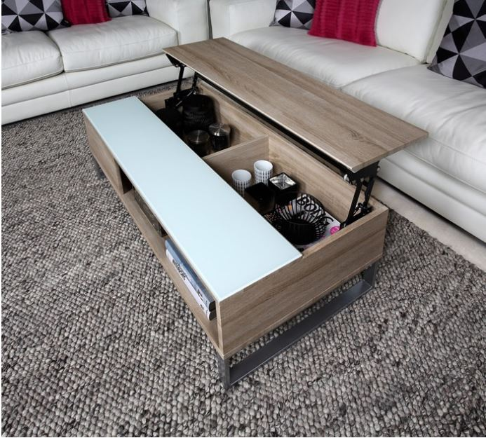 Lift Couchtisch Multifunctionele Salontafel Met Lift | Meubeldeals.nl